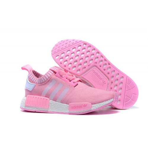 Well-known Adidas NMD_R1 Runner women shoes Pink White